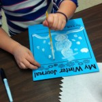 We have begun writing in our winter journals.