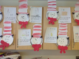 Dr. Seuss Hats and Writings